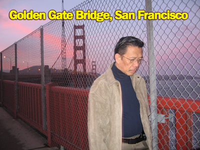 Bro. Eliseo Soriano at the Golden Gate