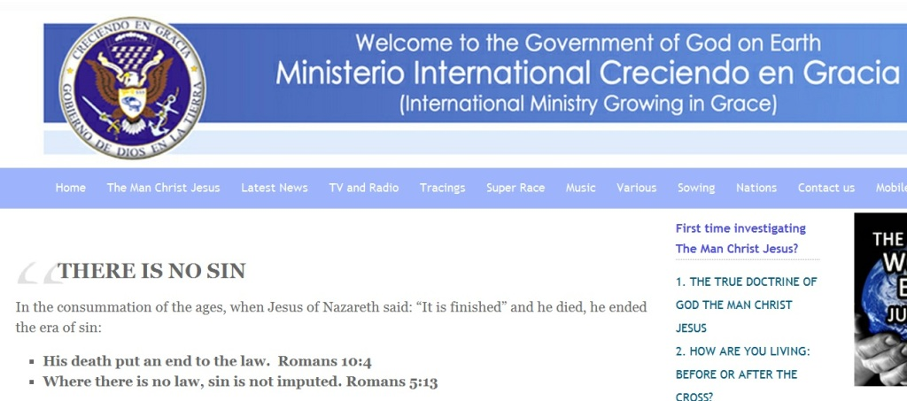 Jose Luis Miranda Church Website